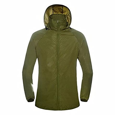 Women's Breathable Ultra Light Casual Coats & Jackets army green / XXL