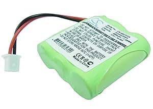vintrons Ersatz Akku für BTI Mistral 20–200, MISTRAL 20–220, Mistral 220, Telecom, AMARYS 2200SF, + vintrons 3,5mm Stecker auf Stecker Stereo Audio-Kabel