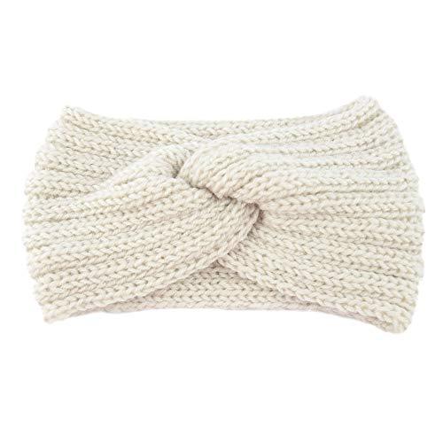 ❤❃jieGREAT Räumungsverkauf❤❃,Frauen knritzten Stirnband häkeln Winterwärmer-Friseur-Häbchen Hair Band Headwrap Headwrap Tank