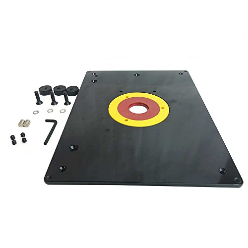 Router table buyitmarketplace big horn 18101 9 x 12 router table plate greentooth Gallery