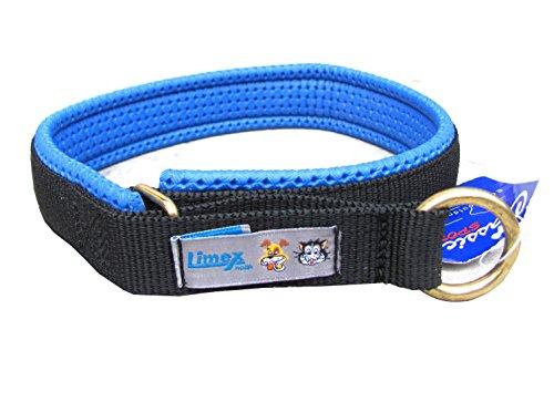 Limex Halsband Neopren blau Gr. 7 / 60 cm