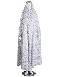 Prayer Dress Hajj Umrah Printed One Piece Hijab