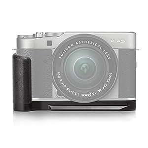 Meike MK-XA5G Aluminum Alloy Hand Grip Quick Release Plate L Bracket for Fujifilm X-A5 For X-A3...