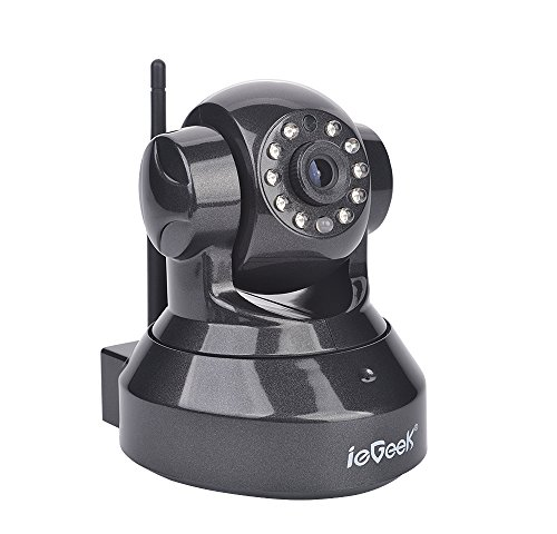 ieGeek HD 720P 1,0 Megapixels P2P IP WiFi Cámara IP Video Vigilancia...