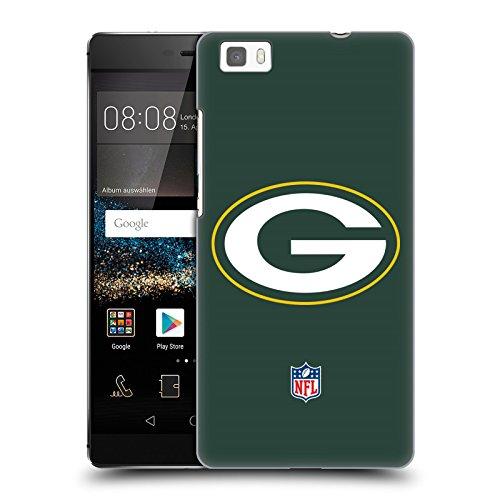 Ufficiale NFL Semplice Green Bay Packers Logo Cover Retro Rigida per Huawei P8lite / ALE-L21