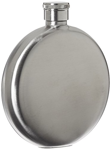 Relags Brush 'Rond Flasque, argent, 150 ml