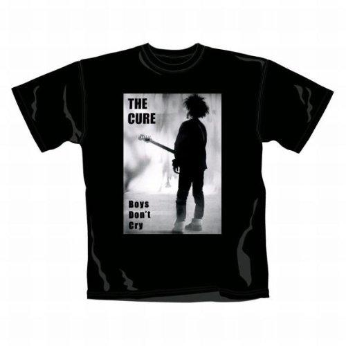 THE CURE - BOYS DON'T CRY T-Shirt Schwarz