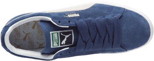 Puma Suede Classic+, Sneaker Unisex – Adulto Blu (Ensign Blue/White 01)