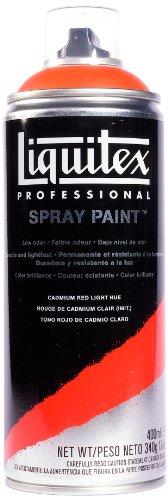 Liquitex Professional - Acrílico en spray, 400ml, rojo de cadmio claro