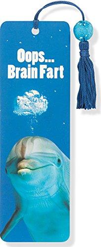 Dolphin Beaded Bookmark