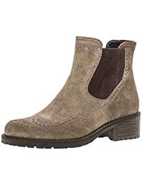 Gabor 96.091 Damen Stiefeletten,Chelsea Boots,Stiefel,flach,Comfort-Mehrweite