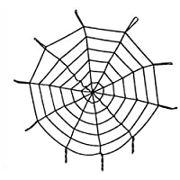 Cadılar Bayram Halloween Örümcek Ağ Siyah 1 Adet / 1 Metre