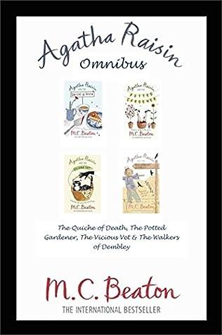 book cover of Agatha Raisin Omnibus books 1-4