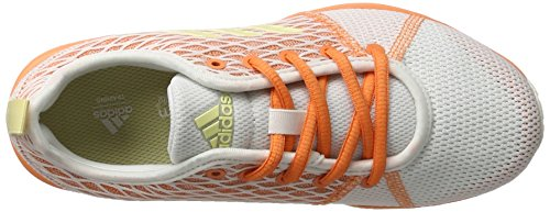 adidas Arianna Cloudfoam, Running Femme Multicolore (Ftwr White/Easy Yellow/Easy Orange)