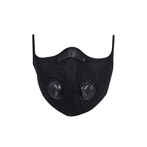 Desirabely Anti-Sauerstoff-Trainingsmaske Sport Fitness Schweiß Ausdauertraining Gesichtsmaske