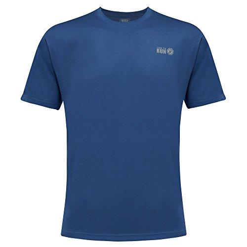 Time To Run Men's Favourite Short Sleeve Running Gym T Shirt Top Large 42