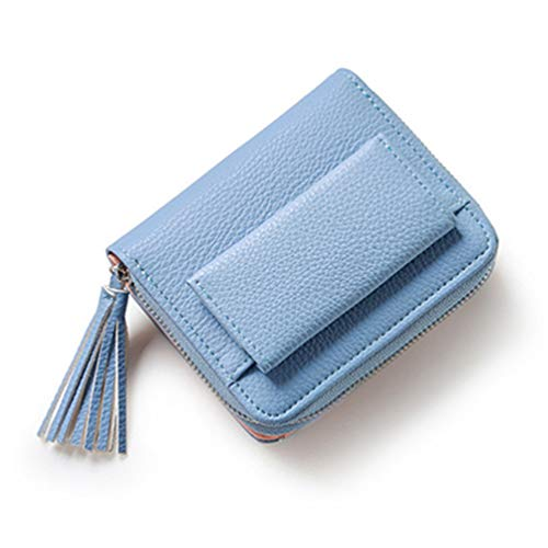 Womens Wallets Mode Short Tassel Lady Mini-Karte Inhaber Weibliche Kreditkarte münzbeutel -