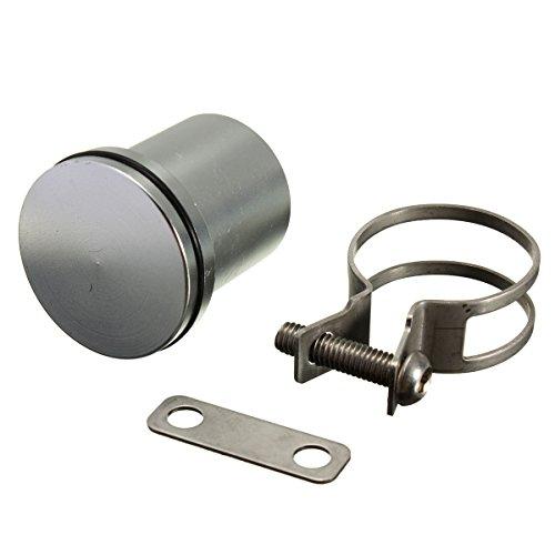 Alamor Universal freno embrague bomba depósito líquido botella aceite taza motocicleta moto - Cromo