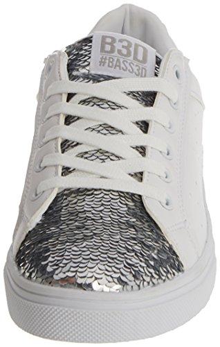 bass3d Damen 041289 Sneaker Silber
