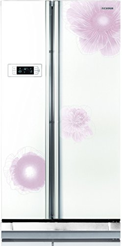 Samsung RS21HSTWA1/XTL Frost-free Double-door Refrigerator (600 Ltrs, 4 Star Rating, Camellia White)