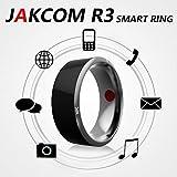 #4: World Beauty's NFC Electronics wearable magic ringJakcom R3 Timer Smart Ring dust-proof/fall-proof - blacksize 7