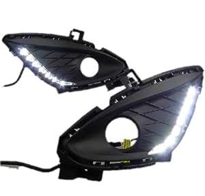 AupTech Mazda 5 2011-2013 FEUX DE JOUR LED DRL Voiture Daylight