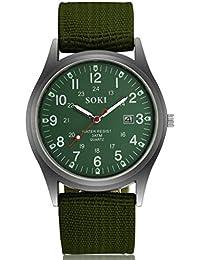 Pulsera De Actividad Inteligente Mens Calendar Watch Reloj De Moda para Hombre Mujer Ultra Fino Barcelet