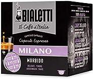 Bialetti Caffè d'Italia Milano (Gusto Morbido) - Box 16 Cap
