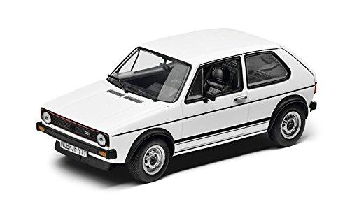 Volkswagen originale vw golf 1gti modello auto 1: 43bianco