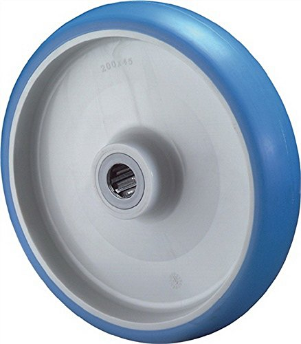 Rad Durchmesser 100mm Tragfähigkeit 140kg Polyurethanrad Nabenlänge 40mm