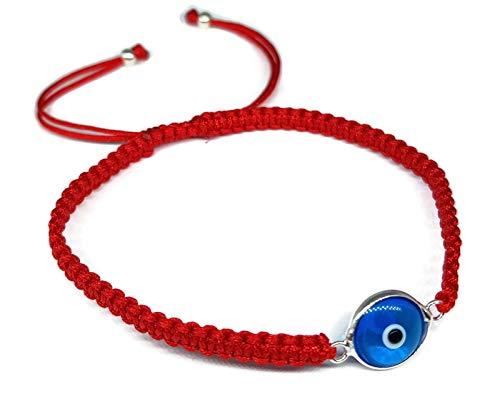 Mystic Jewels By Dalia Pulsera Clásico Ojo de la Buene Suerte (Rojo)