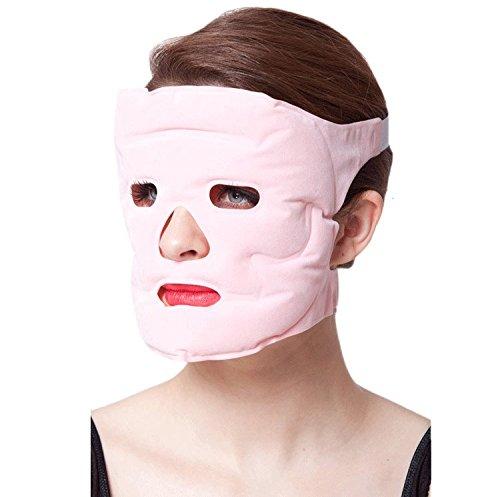 omyzon riutilizzabile bellezza Sbiancante Lifting Mask Ion Tormalina onde di