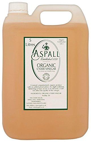 Aspall Organic Cyder Vinegar 5 Litre (Pack of 1)