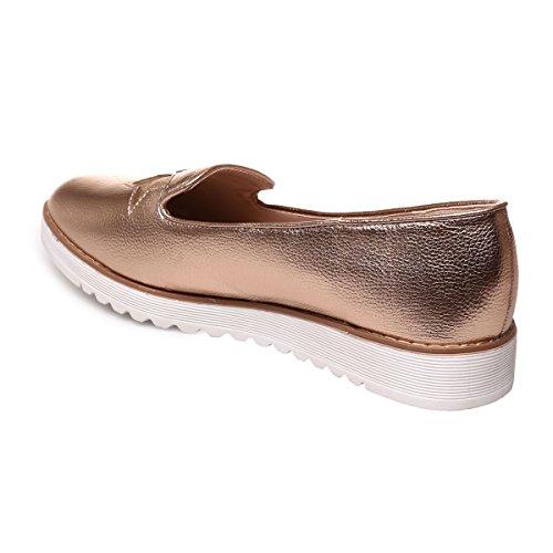 Finto Fashionista In Pantofole Le Rosa Moglie Pelle Oro d0q5tWtrP