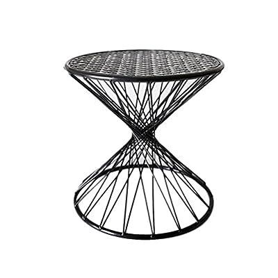 Essensstuhl- Hocker Runden Hohlen Schmiedeeisen Stuhl Hause Kleinen Stuhl Sofa Hocker Schuh Bank Mode Persönlichkeit Kleine Bank von L&Y - Gartenmöbel von Du und Dein Garten