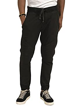 trueprodigy Casual Hombre marca Pontalon Jogger basico ropa retro vintage rock vestir moda deportivo chandal slim...
