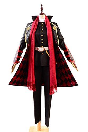 Touken Ranbu Kashuu Kiyomitsu Uniform Cosplay Kostüm Herren Schwarz - Mikazuki Munechika Kostüm