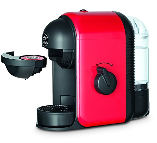 Lavazza Minù Pod coffee machine 0.5L Red - coffee makers (Freestanding, Pod coffee machine, Red, Plastic, Buttons, Rotary, Manual)