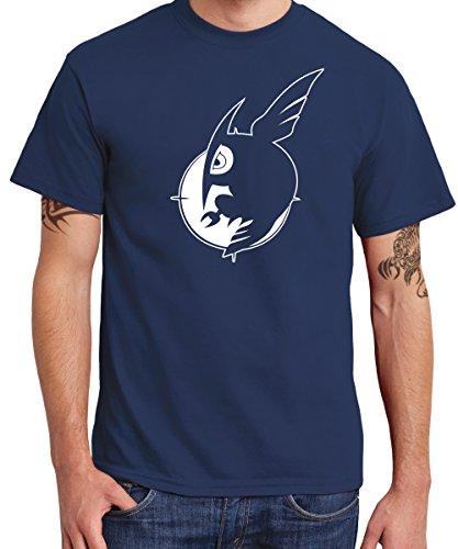 - Night Raid - ga Kill - Boys T-Shirt Navy/Weißer Druck, Größe XXL (Fun Kids Ga)