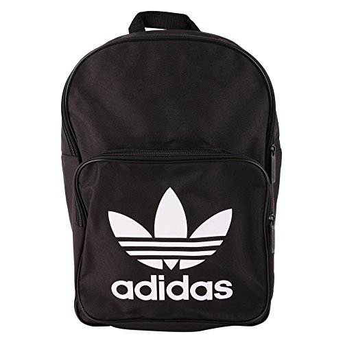 Adidas bp clas trefoil zaino casual, 25 cm, liters, nero (negro)