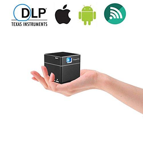 ExquizOn Mini Vidéoprojecteur HD, S6 Projecteur DLP 1080P sans Fil...