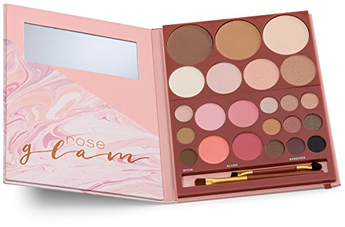 youstar ROSE GLAM Make-up Set - Bronzing-, Contouring-, Highlighting-, Blush- und Brow Powder, Eyes (Sonne-gesicht-palette)