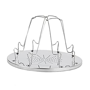 41YhtRRNQDL. SS300  - MagiDeal Camping Rack 4 Slice Toast Tray For Camp Gas Stoves Cooker Fishing Party Outdoor Hiking Backpacking Stove…