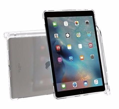 Coque iPad Pro 9,7, Poetic [Transparent] [Compatible avec le clavier] [porte-crayons] élégant mince en TPU pour iPad Pro 9,7 (2016) avec porte-crayons et compatible avec le clavier Smart d'Apple Cristal Clair (Garantie 3 ans du Manufacturier de Poetic)
