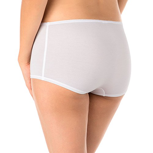 Calida Panty Soft Favourites, Culotte Donna, Beige weiss 001