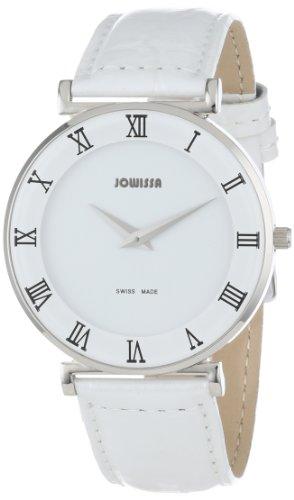 Jowissa - J2.001.L - Montre Femme - Quartz Analogique - Bracelet Cuir Blanc