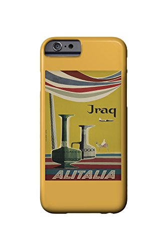 alitalia-iraq-vintage-poster-artist-molinari-italy-c-1955-iphone-6-cell-phone-case-slim-barely-there