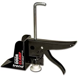 Trend TREDCLAMP 55 mm Door Clamp for Drilling and Fitting