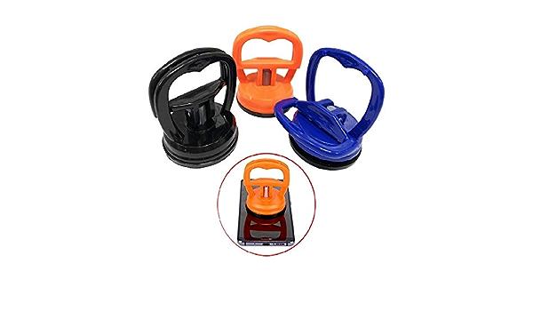9 Colori Sollevatore di Ammaccatura Resistente Sollevatore di Ammaccatura Sollevatore di Vetro per Strumento di Riparazione Dello Schermo Del Telefono Ipad KAHEIGN 9Pcs Ventosa Dello Schermo