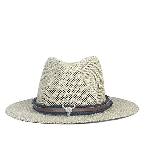 Kostüm Mädchen Matador - zlhcich Sonnenhut Stroh Sonnenhut Panama Cap er Strandhut breiter krempe Stroh Boater sonnenhüte für Frauen 56 58cma Group Black